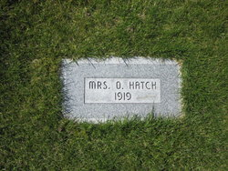 Mrs O. Hatch