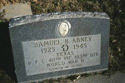 PFC Samuel Bruce Abney