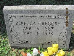 Rebecca <i>Jones</i> Gregory