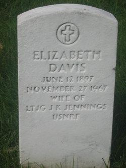 Elizabeth <i>Davis</i> Jennings