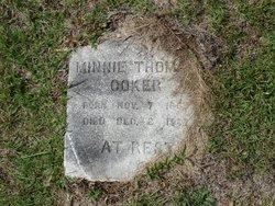 Minnie E <i>Thomas</i> Coker