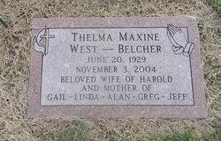 Thelma Maxine <i>Wisdom</i> Belcher
