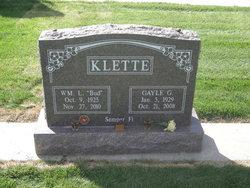 PFC William L. Bud Klette