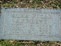 Alma <i>Nicar</i> Andrews
