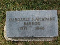 Margaret A. Tommie <i>McAdams</i> Barron