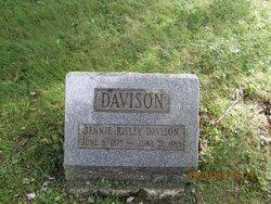 Jennie Philinda <i>Risley</i> Davison