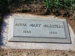 Anna Mary <i>McBride</i> Marsters