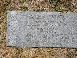 Geraldine <i>Harrington</i> Berry