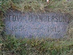 Hedvig <i>Ostergren</i> Anderson