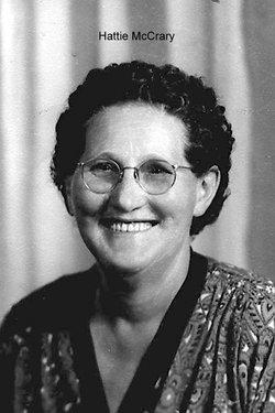 Hattie May <i>McDaniel</i> McCrary