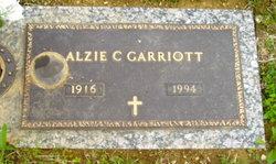 Alzie C Garriott