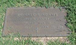 Donald L. Adams