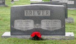 Sallie <i>McClamrock</i> Brewer