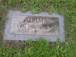 Christopher John Adams