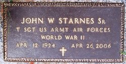 John W. Starnes, Sr