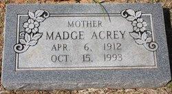 Madge Faye <i>Hudman</i> Acrey