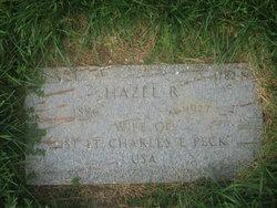 Hazel <i>Roberts</i> Peck
