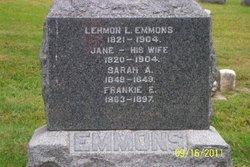 Jane <i>Hale</i> Emmons
