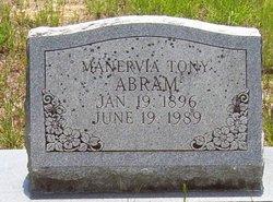 Manervia <i>Tony</i> Abram