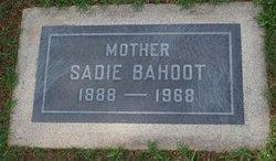 Sadie Bahoot