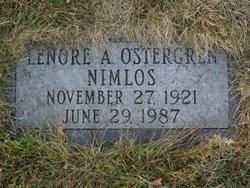 Dr Lenore Ann <i>Ostergren</i> Nimlos