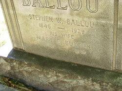 Mary Ellen Nellie <i>Buxton</i> Ballou