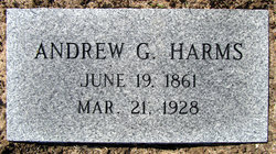 Andreas G. Andrew Harms