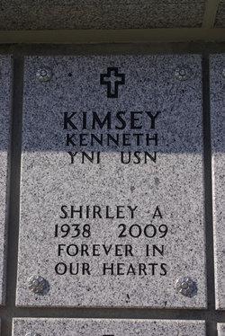 Shirley Ann <i>Wyatt</i> Kimsey