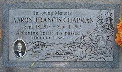 Aaron Francis Chapman