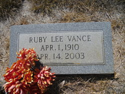 Ruby Lee <i>Nettles</i> Vance
