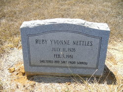 Ruby Yvonne <i>Suber</i> Nettles