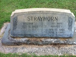 Nannie Freeland <i>Strayhorn</i> Strayhorn