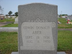 Edwin Donald Aber