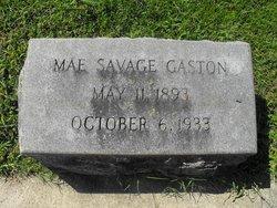 Annie Mae <i>Savage</i> Gaston