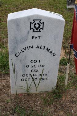Pvt Calvin Altman