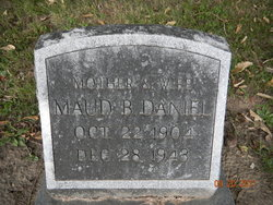 Maude Bell <i>McKee</i> Daniel