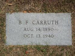 B F Carruth