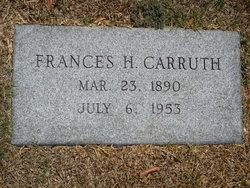 Frances Carter <i>Headley</i> Carruth