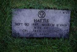 Hattie Norene <i>Bunyard</i> Gluesing