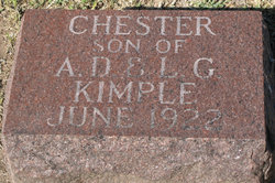 Chester Griffith Kimple