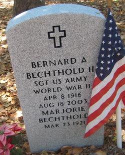 Bernard A. Barney Bechthold, II