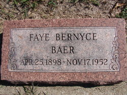 Faye Bernyce <i>Feller</i> Baer