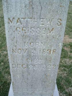 Matthew S Grissom