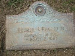 Homer Earl Bud Franklin