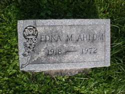 Edna May <i>High</i> Ahlum