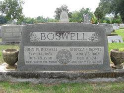 Rebecca Elizabeth <i>Luper</i> Boswell