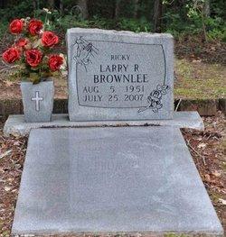 Larry Richard Ricky Brownlee, Sr