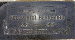 Polly Ann <i>Parker</i> Blakeman