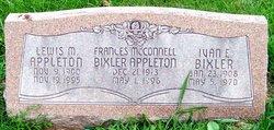 Mrs Frances <i>McConnell</i> Bixler-Appleton