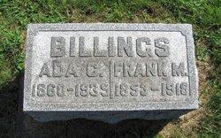Ada C. <i>Hill</i> Billings